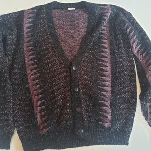 Vintage Men's Manhattan intrepid XL 80s sweater